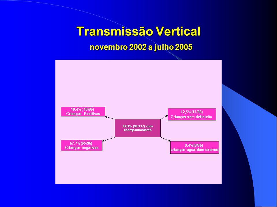 Transmissão Vertical novembro 2002 a julho 2005
