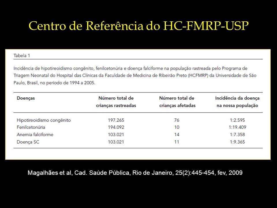 Centro de Referência do HC-FMRP-USP Magalhães et al, Cad.