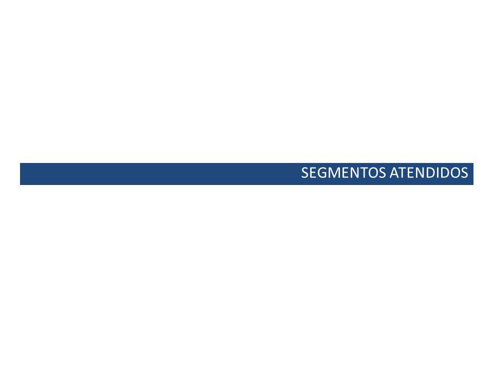 SEGMENTOS ATENDIDOS
