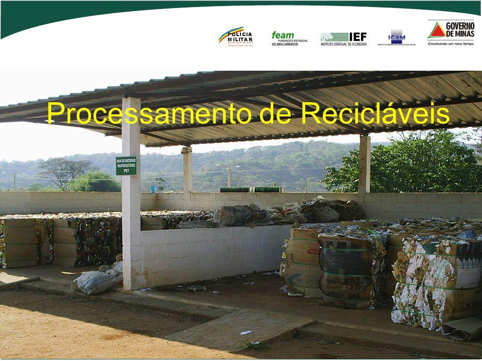 Processamento de Recicláveis