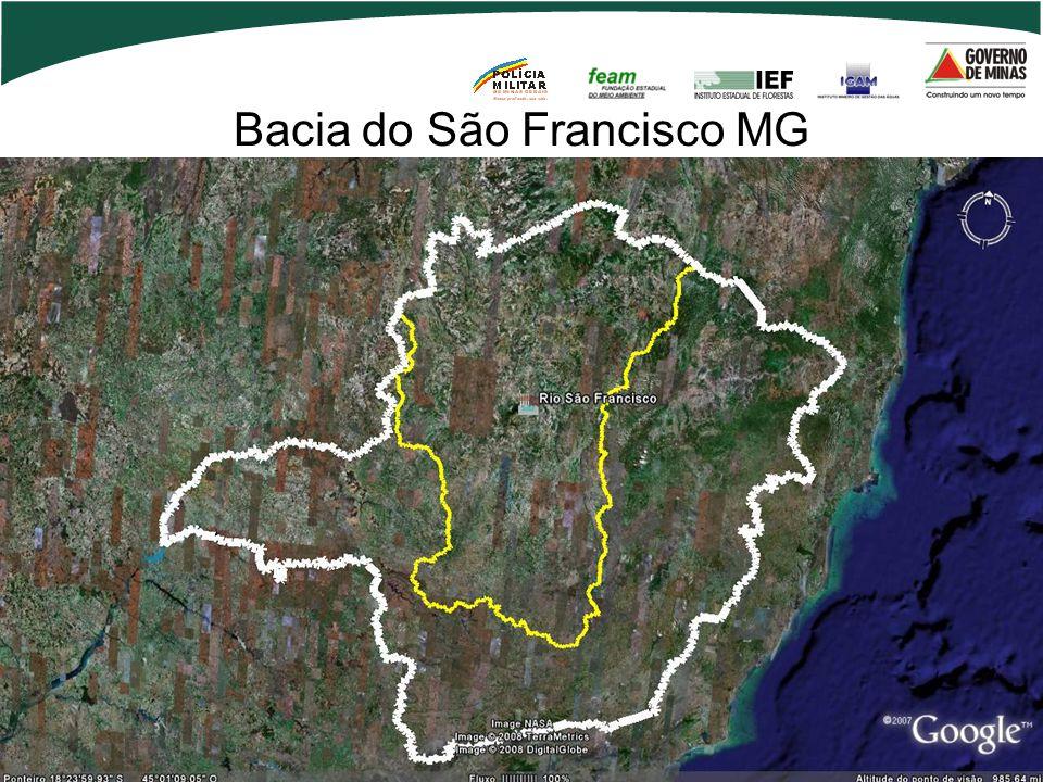 Bacia do São Francisco MG