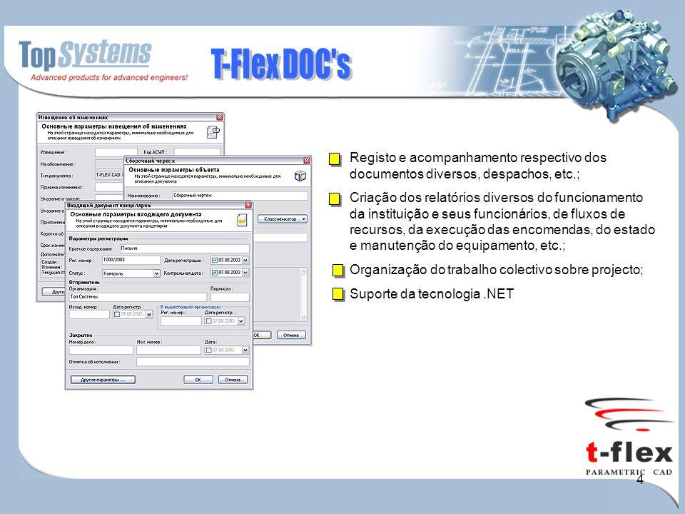 4 Registo e acompanhamento respectivo dos documentos diversos, despachos, etc.; Criação dos relatórios diversos do funcionamento da instituição e seus