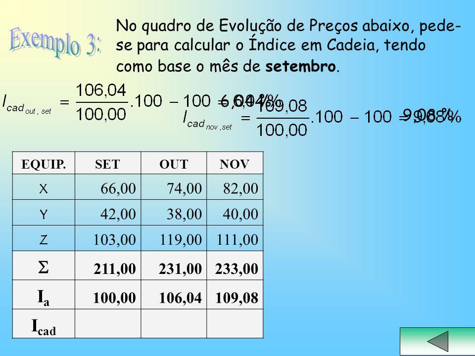 EQUIP.SETOUTNOV X 66,0074,0082,00 Y 42,0038,0040,00 Z 103,00119,00111,00  211,00231,00233,00 IaIa 100,00106,04109,08 I cad 6,04 % 9,08 % No quadro de