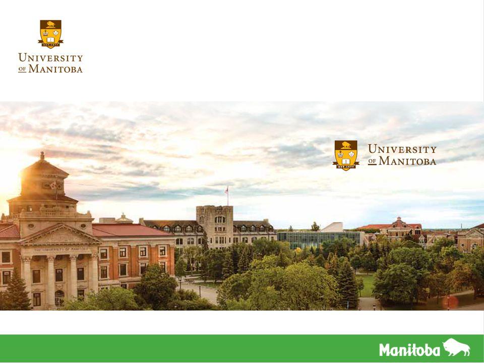 VISÃO GERAL Localizada em Winnipeg, capital de Manitoba Fundada em 1877, foi a primeira universidade na parte ocidental canadense Mais de 30,000 estudantes estão matriculados Mais de 13% destes são estudantes internacionais de mais de 80 países UM é conhecida por sua pesquisa intensiva e fornece mais de 24 faculdades Oferece todos os programas profissionais (exceto medicina veterinária e optometria) A Faculdade Internacional de Manitoba (ICM), localizada dentro do campus, oferece acesso para o segundo ano da universidade, desenhado especificamente para alunos internacionais O Centro de Língua Inglesa UM fornece programas de preparação para CanTest, TOEFL iBT, IELTS e TOEIC, programas acadêmicos intensivos de inglês, inglês para fins acadêmicos, o Programa de Experiência da Universidade Canadense e é também um Centro de Avaliação para o IELTS O Centro Internacional UM para Alunos os ajuda com acomodações e serviços estudantis A UM possui opções de casas de família, e várias residências dentro do campus Alunos brasileiros são elegíveis para a Bolsa de Estudos Ciências sem Fronteiras