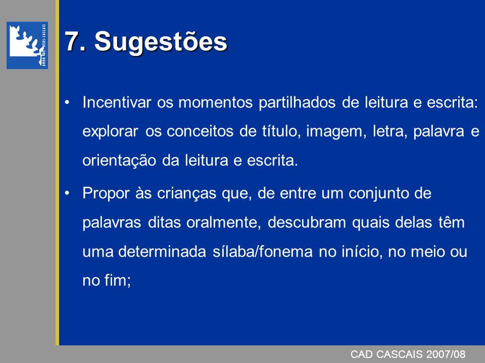 CAD CASCAIS 2007/08 7.