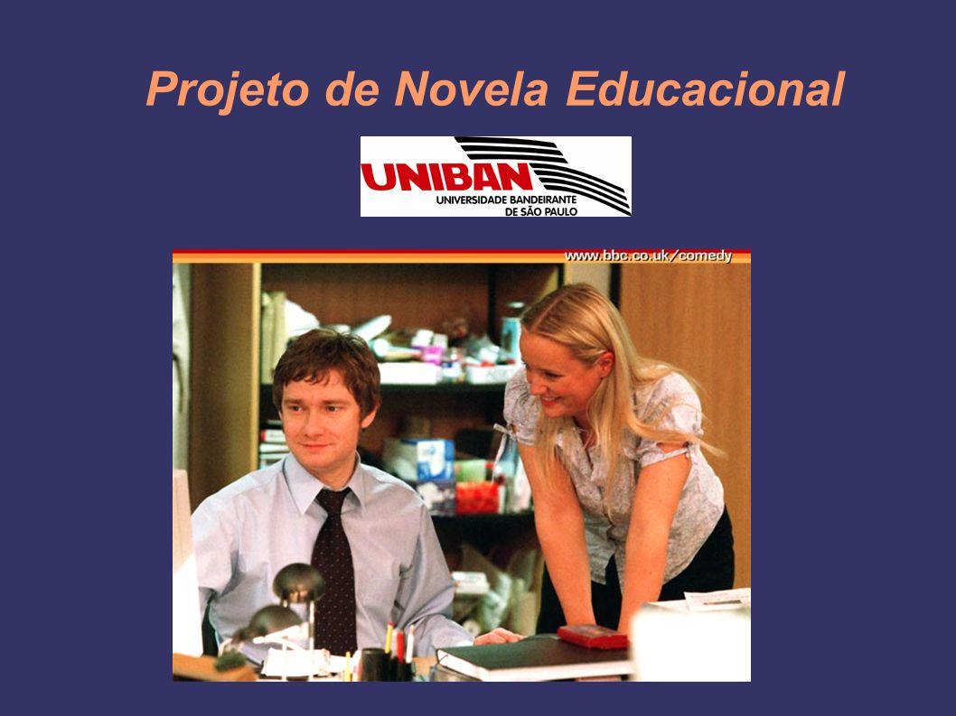Projeto de Novela Educacional