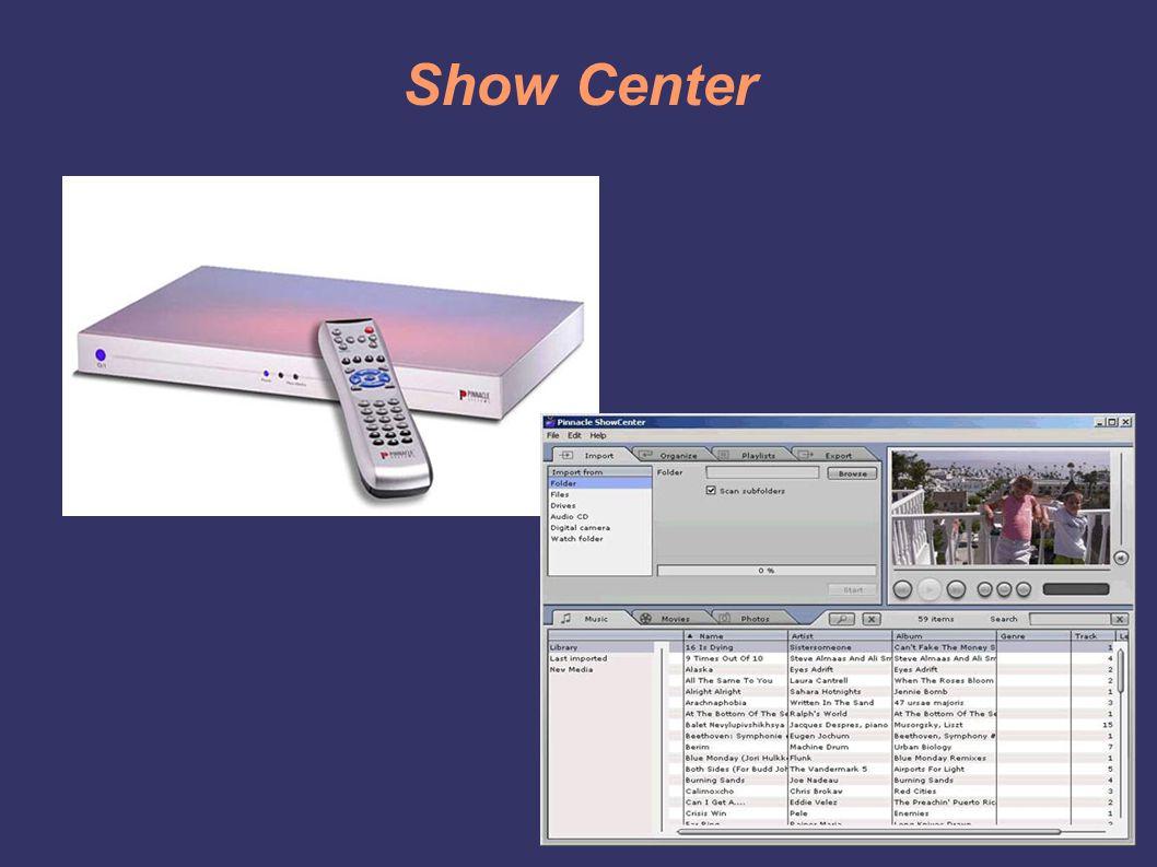 Show Center