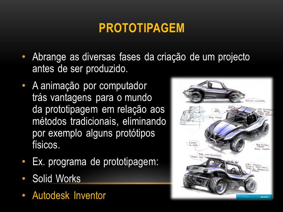 AUTODESK INVENTOR O Autodesk Inventor é um software que permite entre outras coisas: Desenhar.