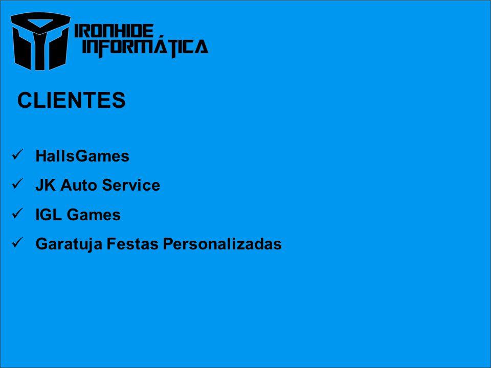 CLIENTES HallsGames JK Auto Service IGL Games Garatuja Festas Personalizadas