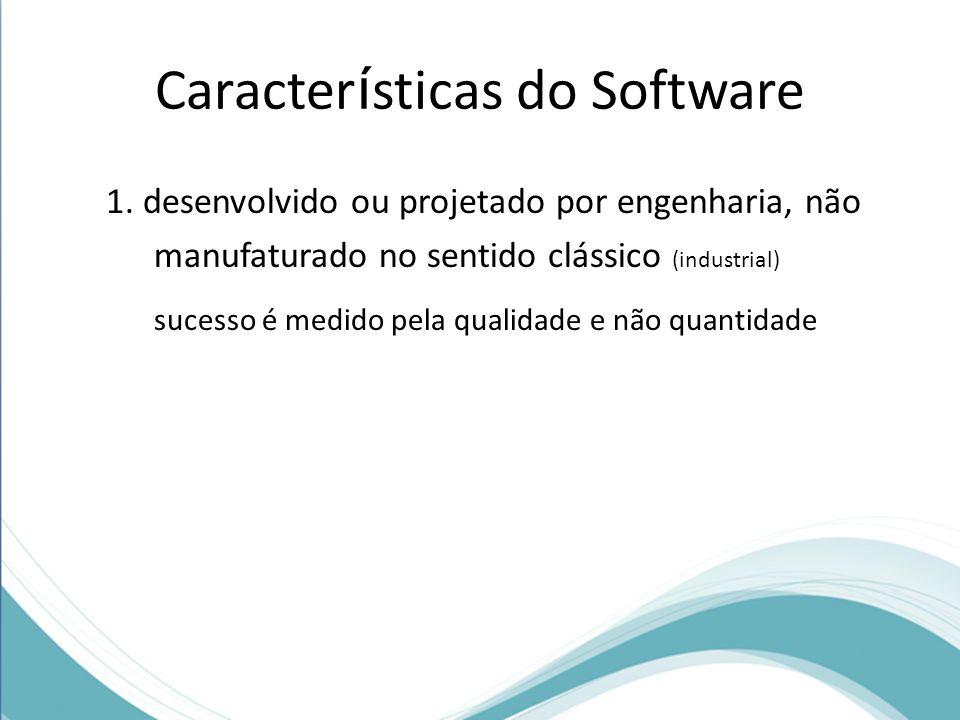 Caracter í sticas do Software 1.