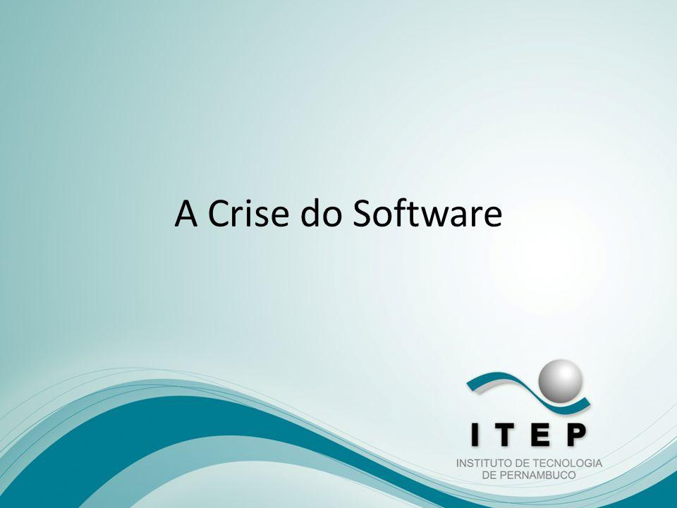 A Crise do Software