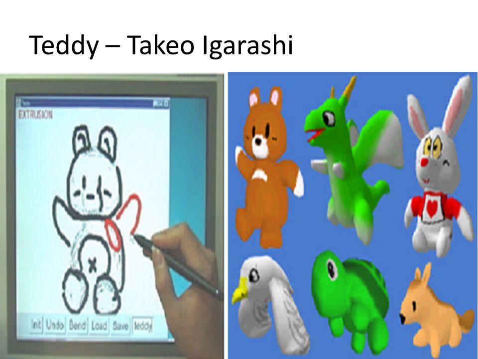 Teddy – Takeo Igarashi