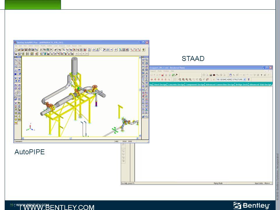 © 2010 Bentley Systems, Incorporated 38   WWW.BENTLEY.COM