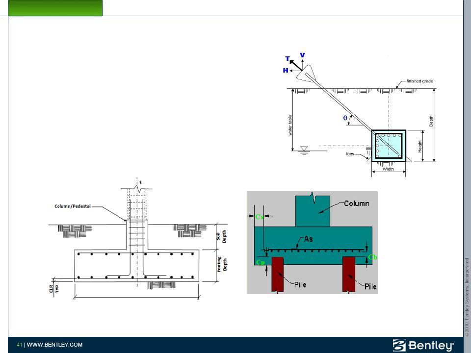 © 2010 Bentley Systems, Incorporated 40 | WWW.BENTLEY.COM