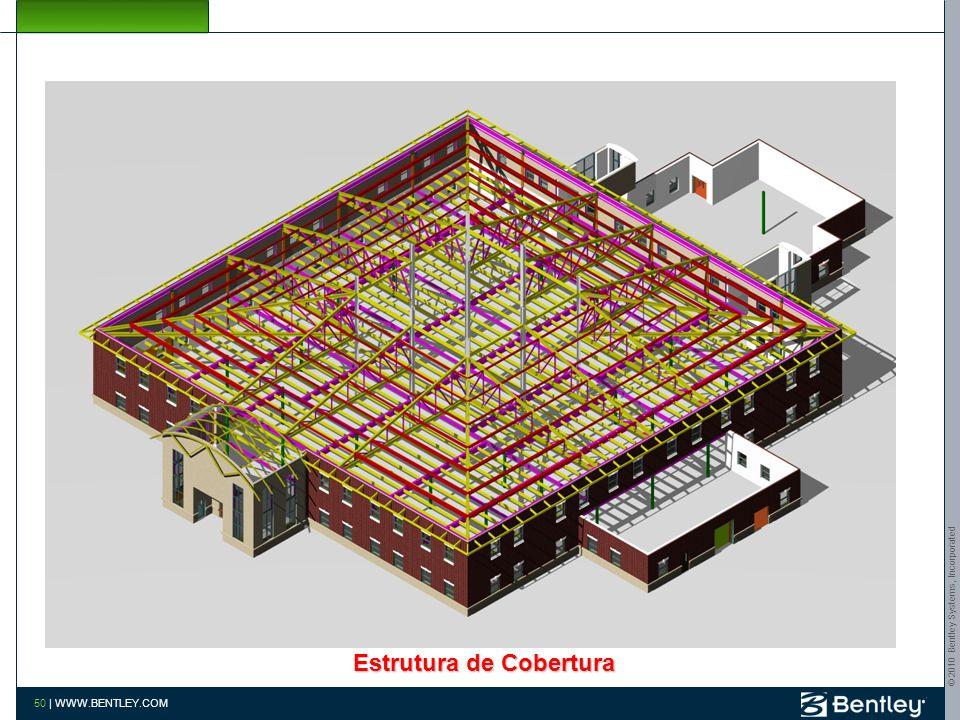 © 2010 Bentley Systems, Incorporated 49   WWW.BENTLEY.COM Estruturas segundo piso