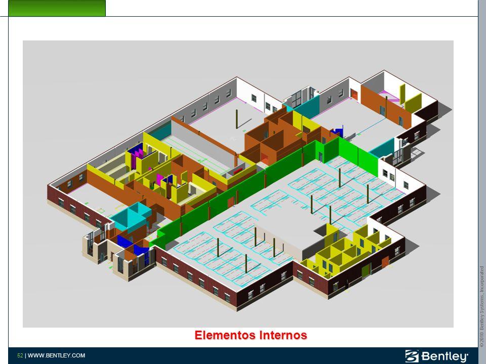 © 2010 Bentley Systems, Incorporated 51 | WWW.BENTLEY.COM Estruturas de Cobertura