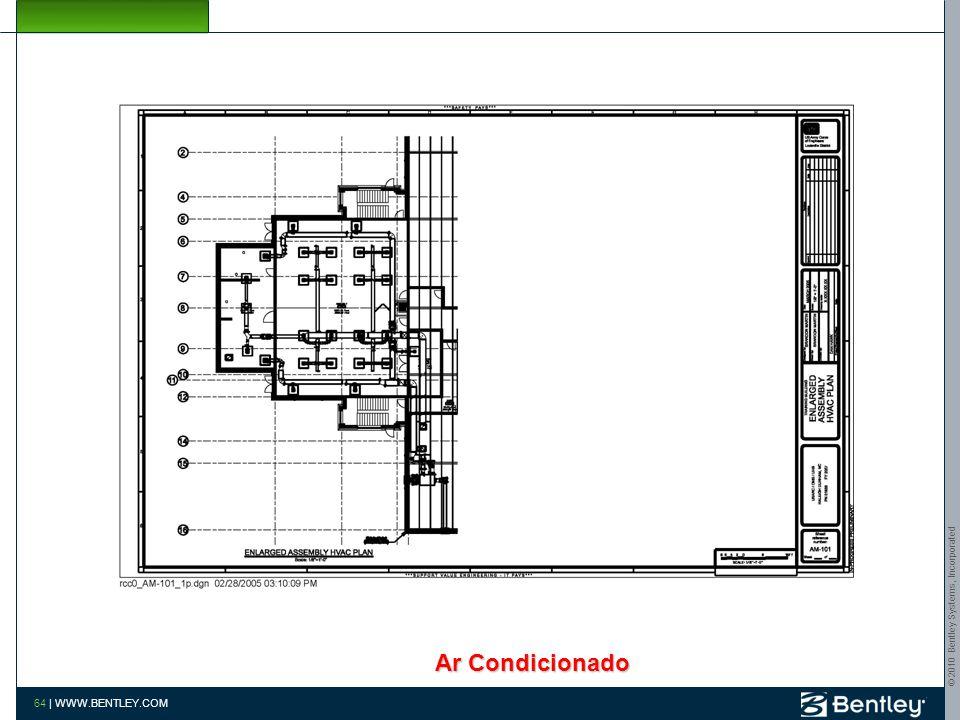 © 2010 Bentley Systems, Incorporated 63 | WWW.BENTLEY.COM Extração Plano de Cobertura