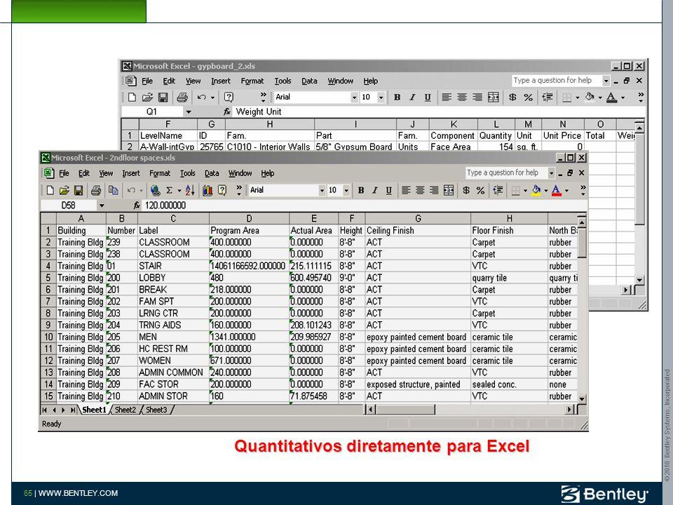 © 2010 Bentley Systems, Incorporated 64   WWW.BENTLEY.COM Ar Condicionado