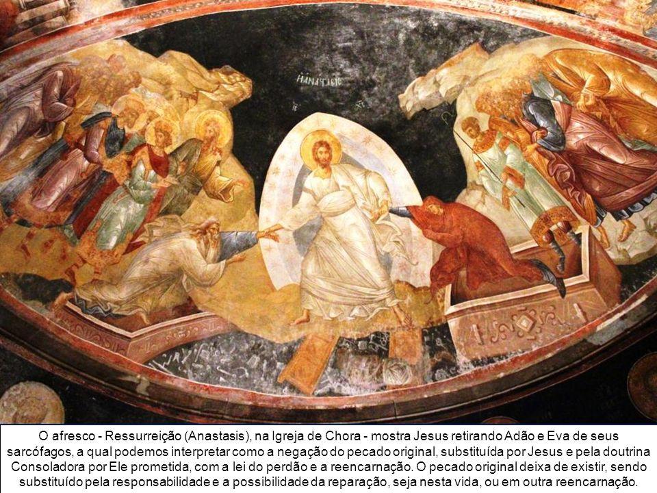 A Igreja de São Salvador em Chora (significa nos campos), dedicada a Jesus, é um dos mais belos exemplos de igreja bizantina. Foi construída pelo Impe