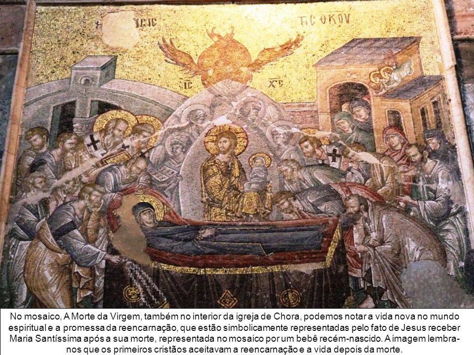 O afresco - Ressurreição (Anastasis), na Igreja de Chora - mostra Jesus retirando Adão e Eva de seus sarcófagos, a qual podemos interpretar como a neg