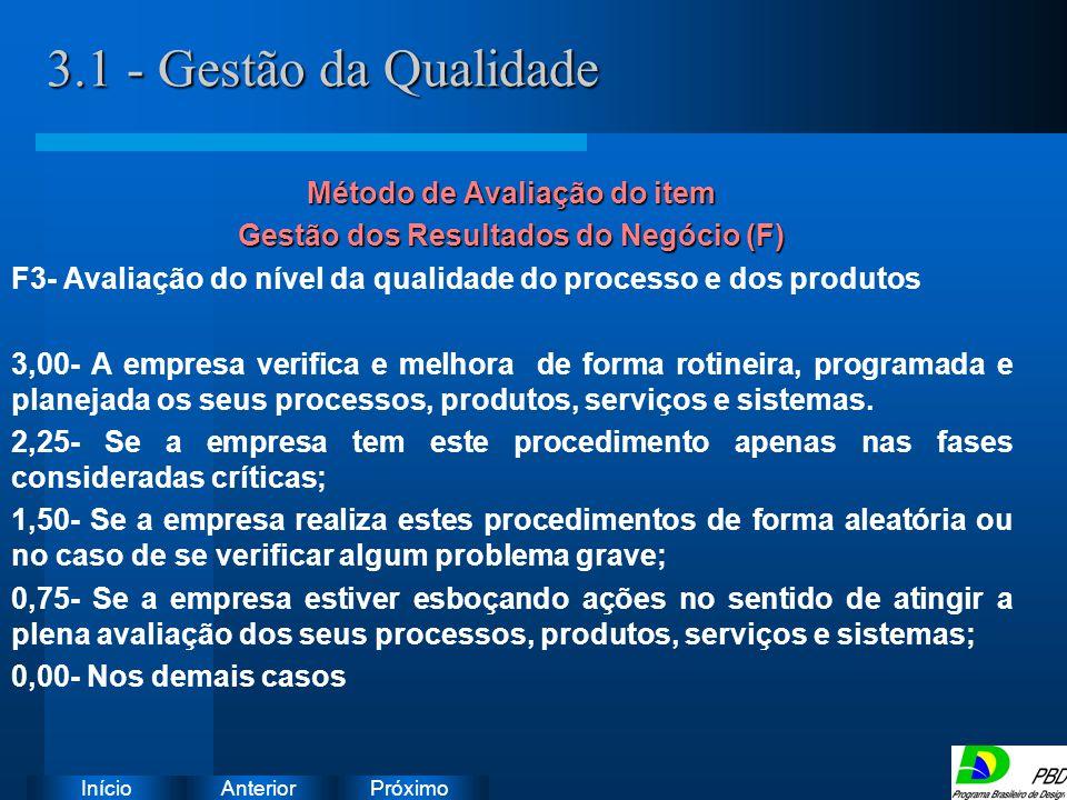 Próximo AnteriorInício 3.1 - Gestão da Qualidade Instruções: Exclua o ícone do documento de exemplo e substitua-o pelos do documento de trabalho: Crie