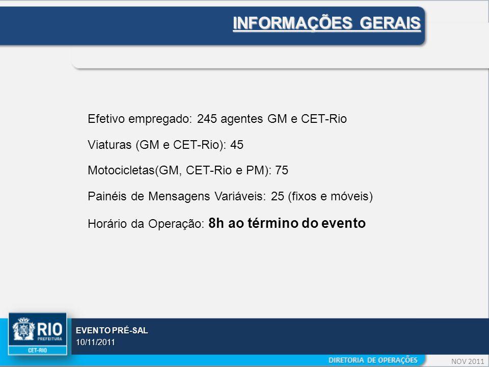 NOV 2011 EVENTO PRÉ-SAL 10/11/2011 ÁREA DO EVENTO
