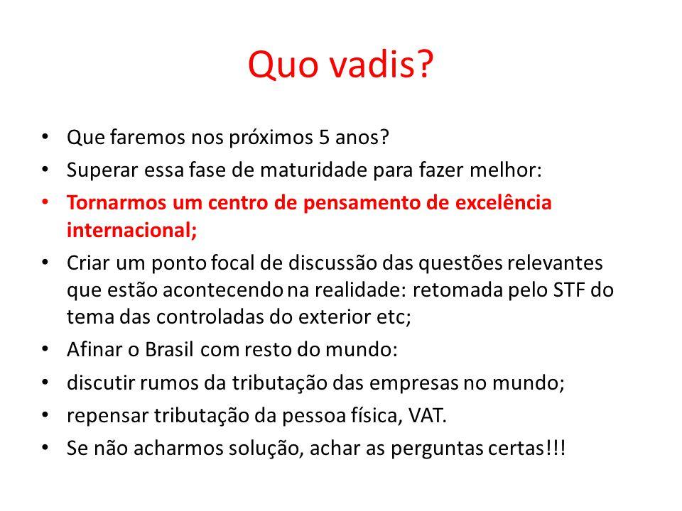 PRIMEIRO ANO (2009): PESQUISA: PROCESSO ADMINISTRATIVO E PLANEJAMENTO TRIBUTÁRIO NO CONSELHO ADMINISTRATIVO DE RECURSOS FISCAIS – CARF (Desafio da pesquisa empírica enfrentar o problema de acesso à informação em face do sigilo fiscal) 1º Colóquio Internacional do NEF Convidado Especial: RICHARD BIRD (Prof.