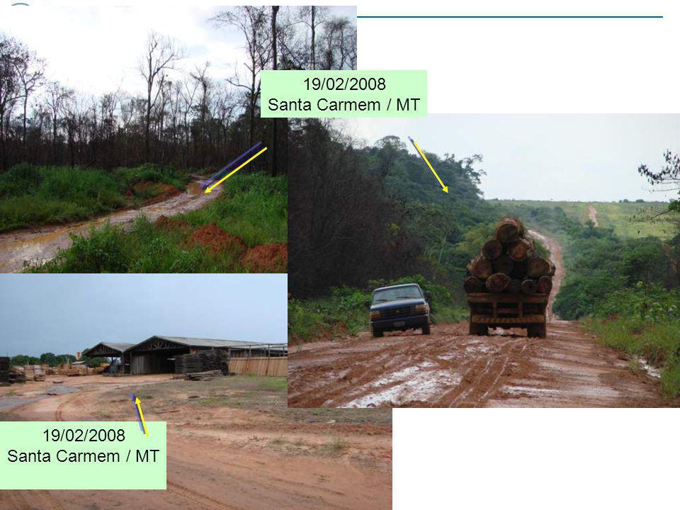 19/02/2008 Santa Carmem / MT 19/02/2008 Santa Carmem / MT