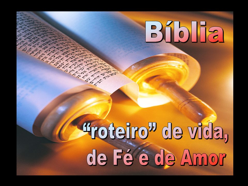 O palavra Bíblia vem do grego Biblos , nome da casca de um papiro usado no século XI a.C..