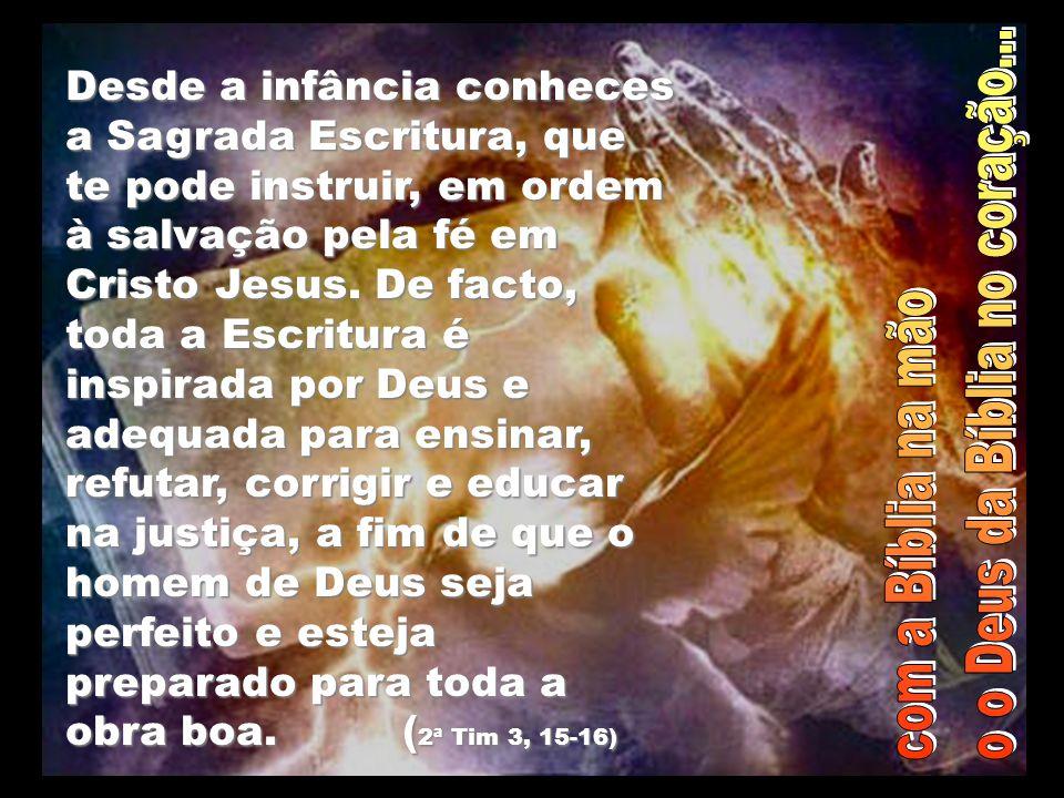 O Senhor disse a Abrão: «Deixa a tua terra, a tua família e a casa do teu pai, e vai para a terra que Eu te indicar.