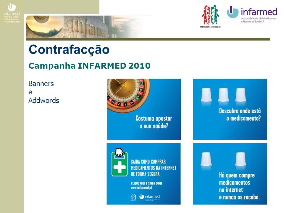 Sondagem INFARMED 2010 Conclusões - Existem portugueses a correr sérios riscos de saúde por comprar medicamentos em sites não autorizados.