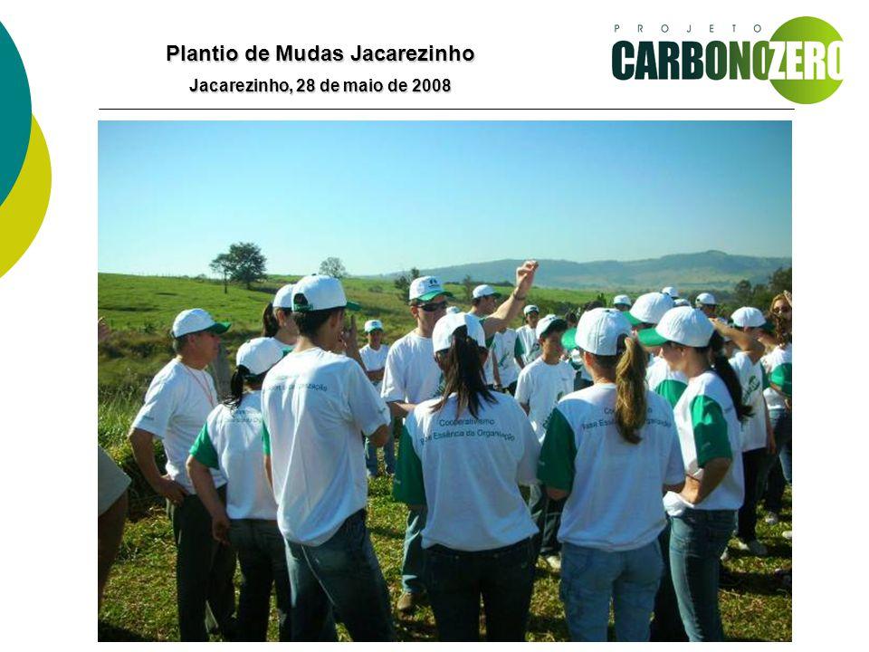 Plantio de Mudas Jacarezinho Jacarezinho, 28 de maio de 2008