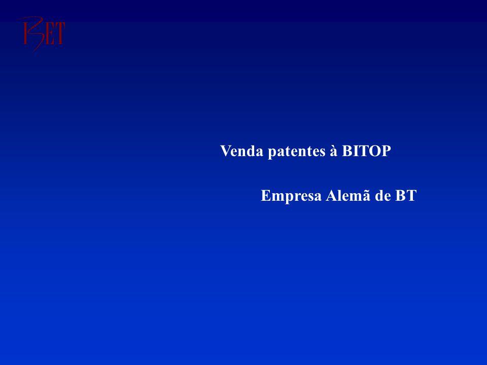 Venda patentes à BITOP Empresa Alemã de BT