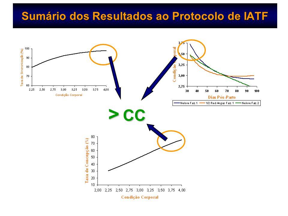Sumário dos Resultados ao Protocolo de IATF > CC