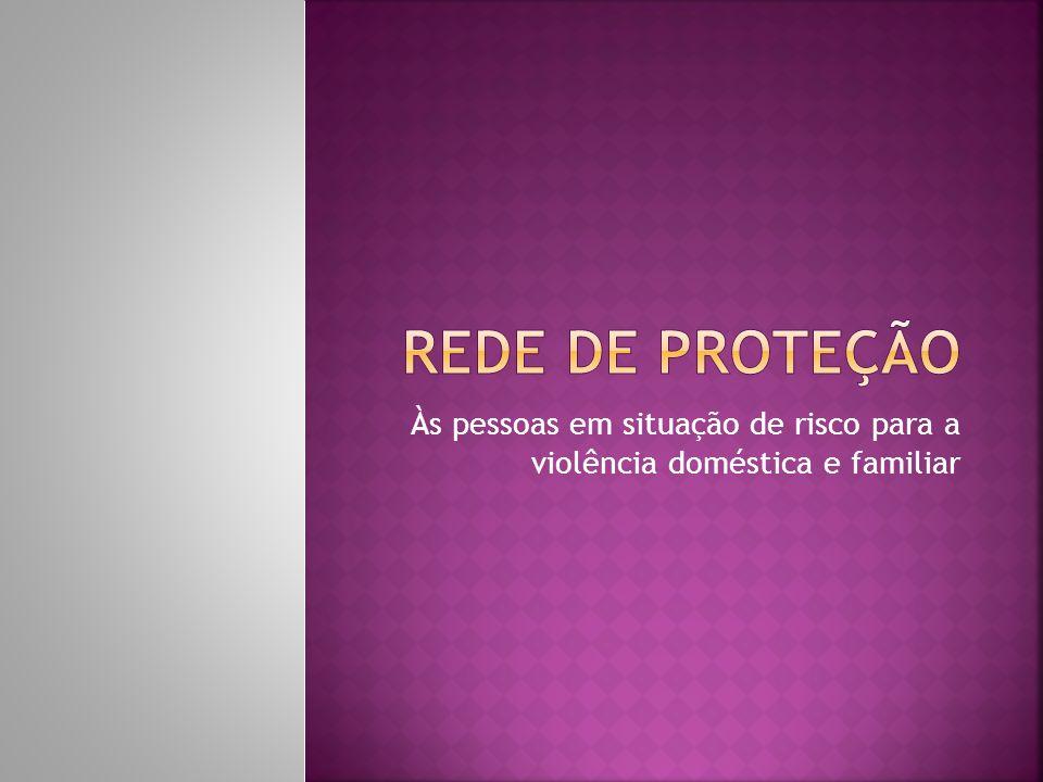  Piraquara: 01 Coordenação Municipal com a participação de representantes das secretarias parceiras; 10 Redes Locais; 65 serviços  CREAS-Centro de Referência Especializado em Assistência Social- Banco de Dados das notificações