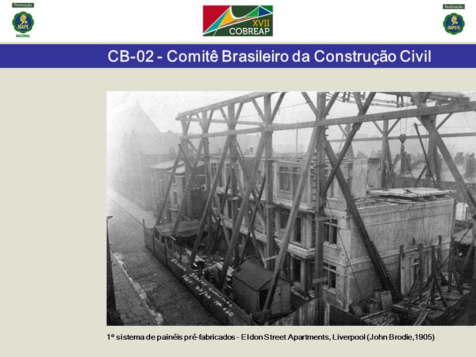 CB-02 - Comitê Brasileiro da Construção Civil Exigências do usuário Condições de exposição Edifício e suas partes Requisitos de desempenho Qualitativos Critérios de desempenho Quantitativos, em geral Métodos de avaliação Análises, cálculos, ensaios Avaliação de desempenho