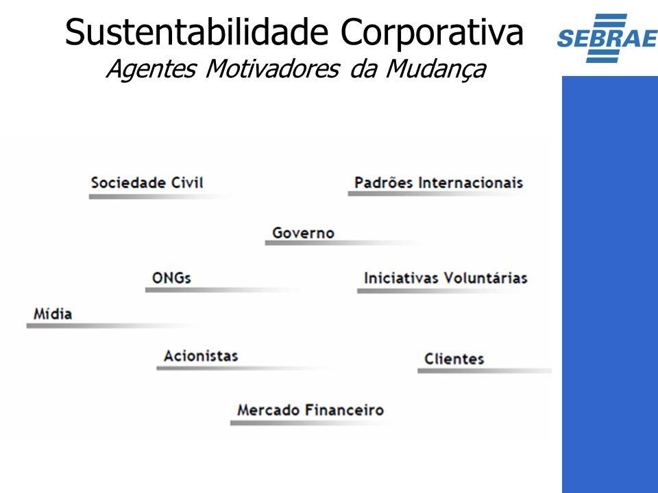 Sustentabilidade Corporativa Agentes Motivadores da Mudança