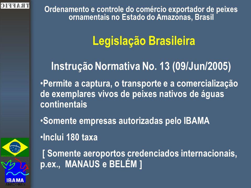 Legislação Brasileira Instrução Normativa No.