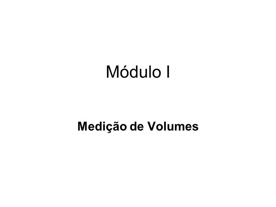 Módulo I Medição de Volumes