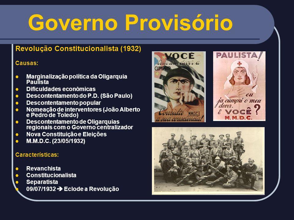 2 - O Brasil após o golpe: Ranieri Mazzili (presidente da Câmara) assume interinamente.