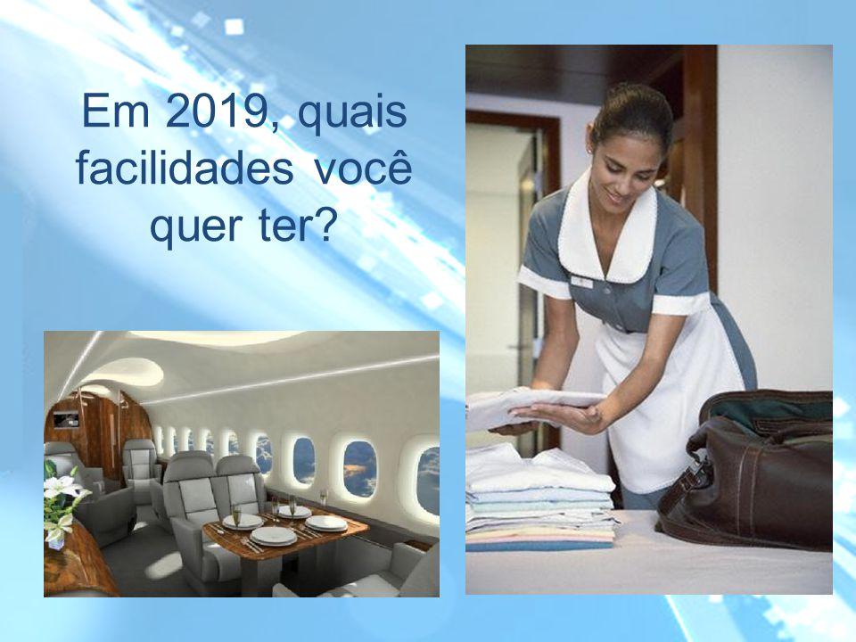 Em 2019, quais facilidades você quer ter?
