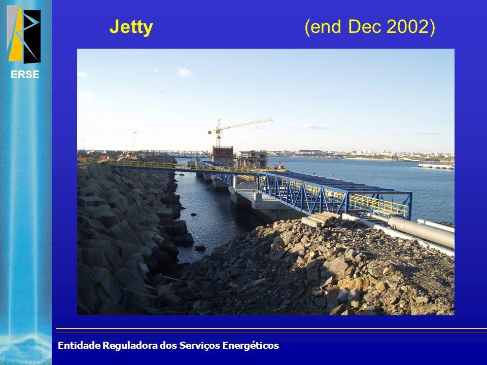 Entidade Reguladora dos Serviços Energéticos ERSE Jetty (end Dec 2002)