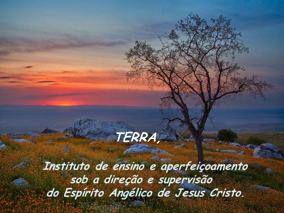 TERRA, Instituto de ensino e aperfeiçoamento sob a direção e supervisão do Espírito Angélico de Jesus Cristo.