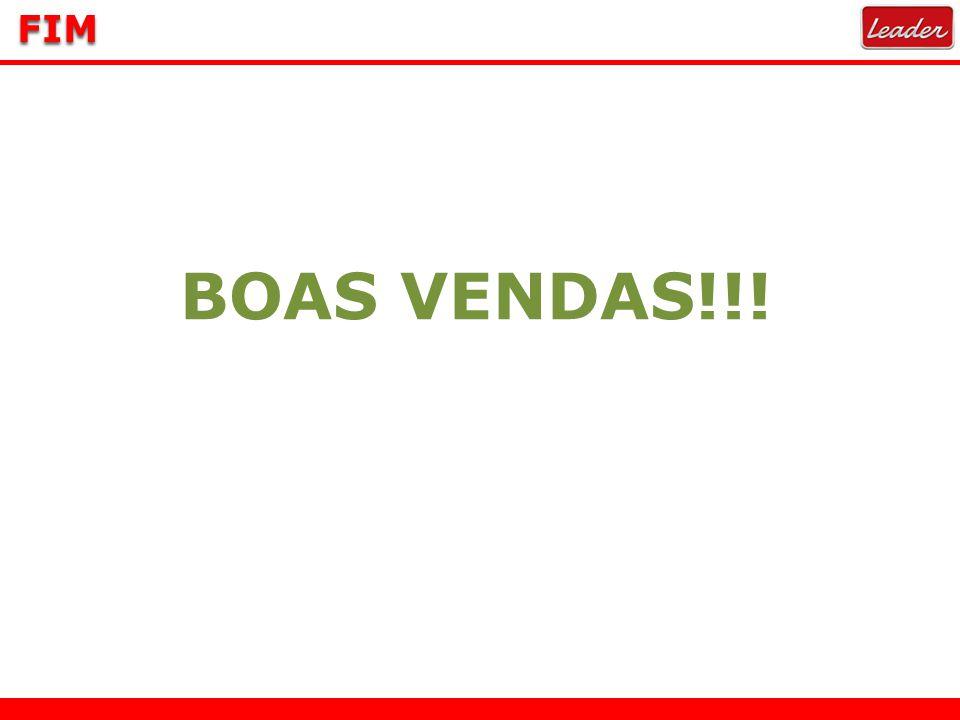 FIM BOAS VENDAS!!!