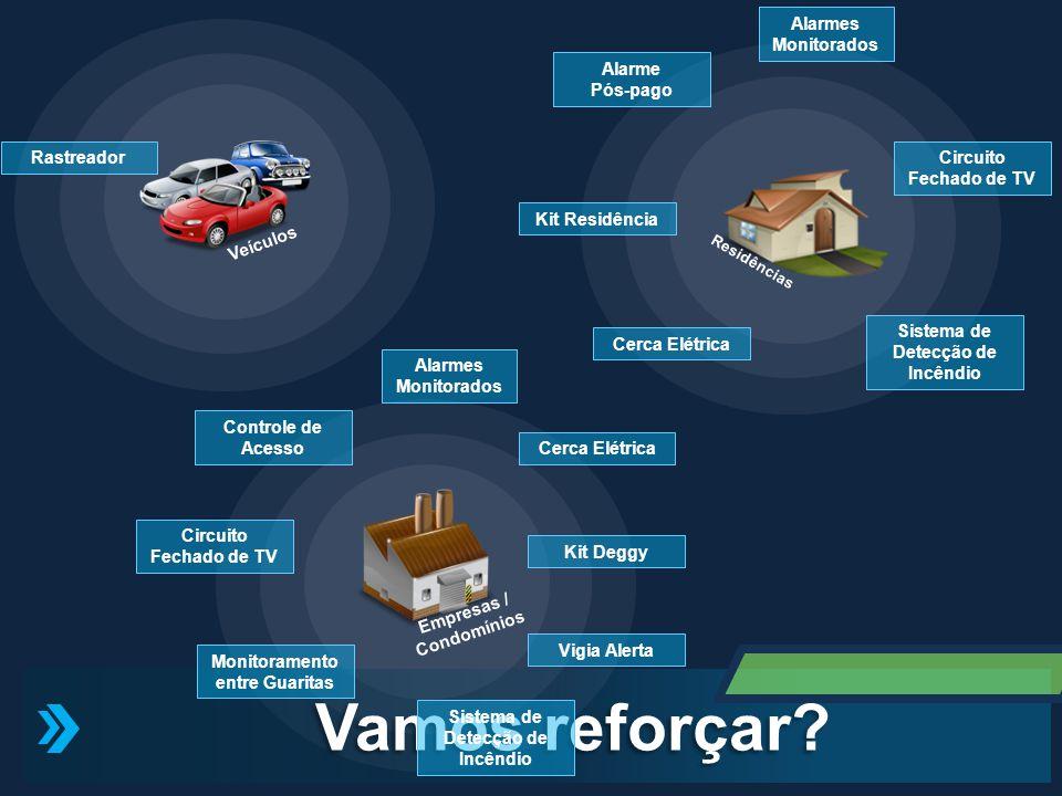 Empresas / Condomínios Veículos Vamos reforçar? Controle de Acesso Rastreador Monitoramento entre Guaritas Cerca Elétrica Kit Deggy Vigia Alerta Siste