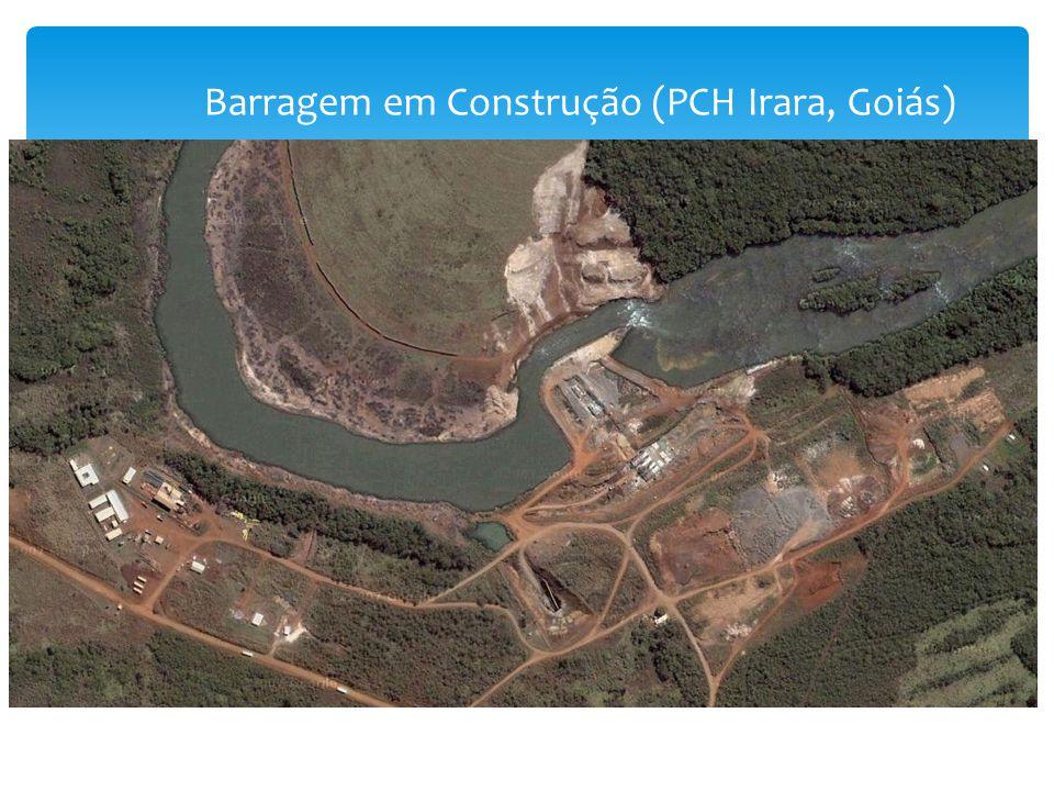 Barragem em Construção (PCH Irara, Goiás)