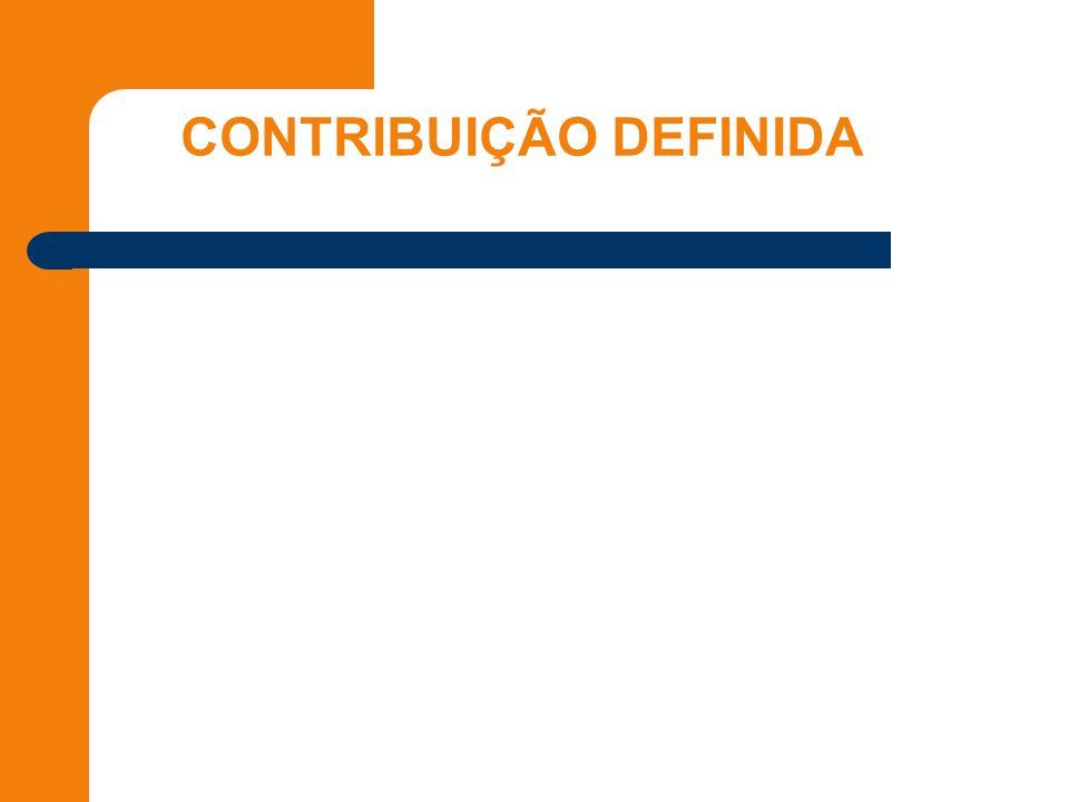 CONTRIBUIÇÃO DEFINIDA
