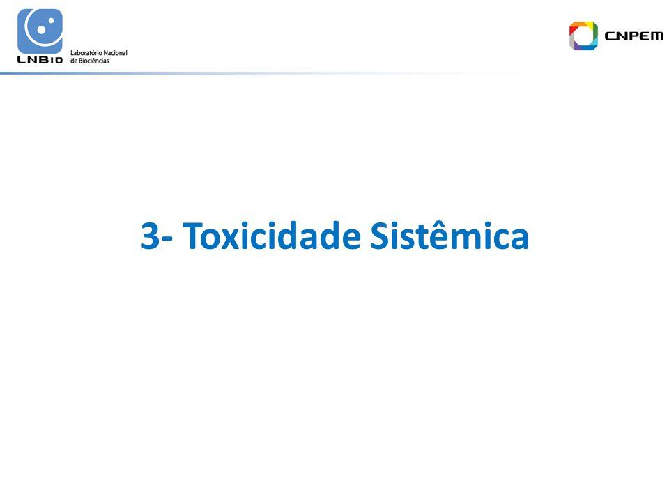 3- Toxicidade Sistêmica