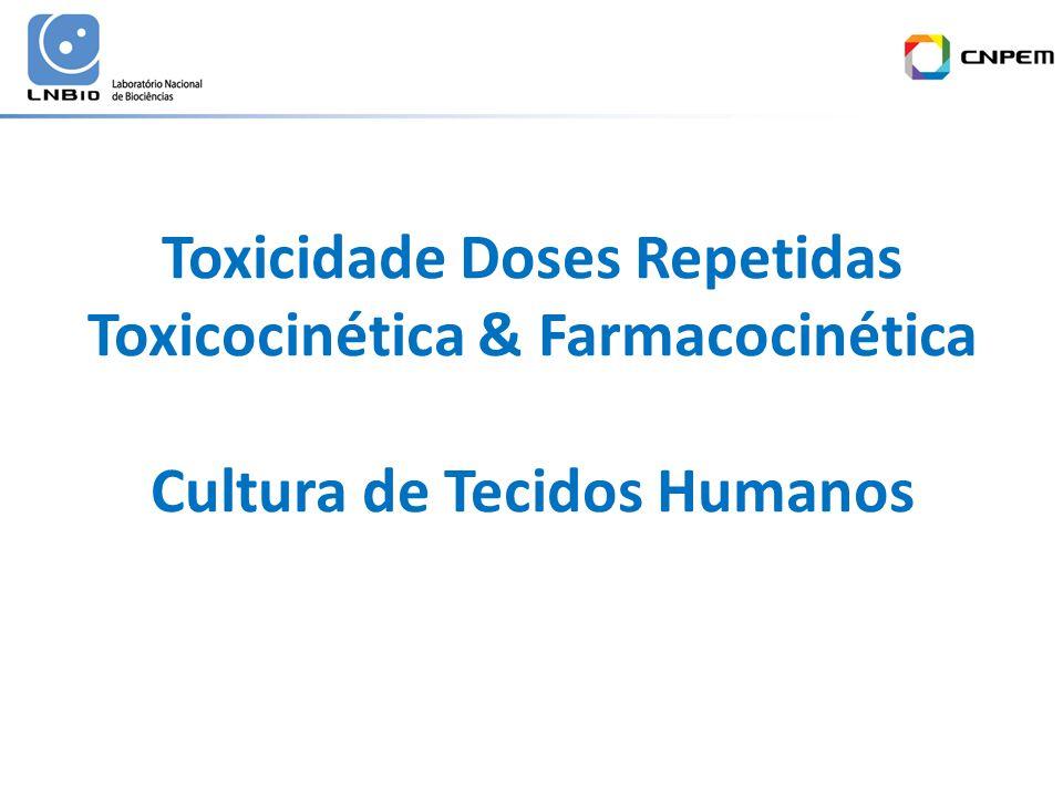 Toxicidade Doses Repetidas Toxicocinética & Farmacocinética Cultura de Tecidos Humanos