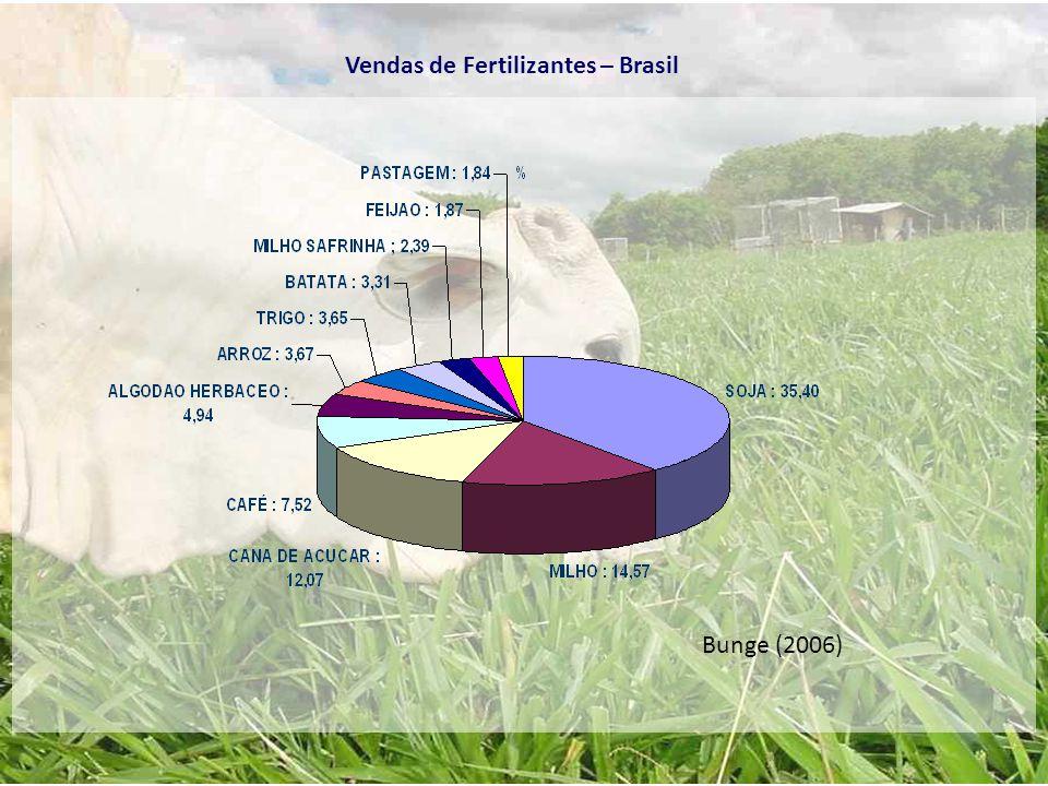 Bunge (2006) Vendas de Fertilizantes – Brasil